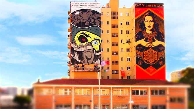 Malaga's urban street art becomes a toursist attraction