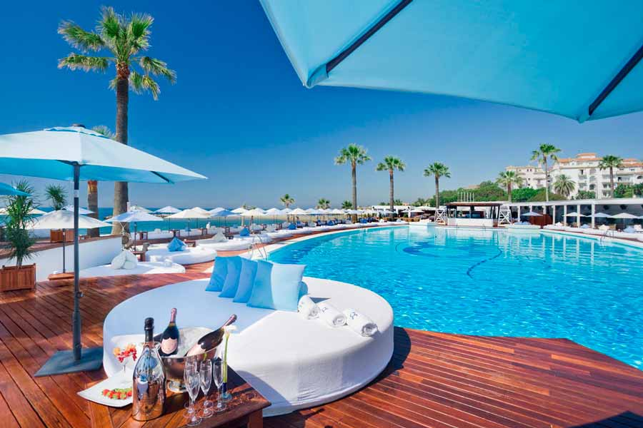 The 5 Best Beach Clubs in Marbella to Visit