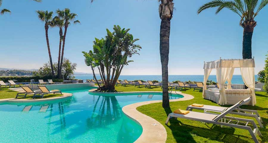 best beach hotels in Marbella