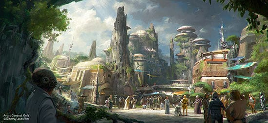 star wars world disney