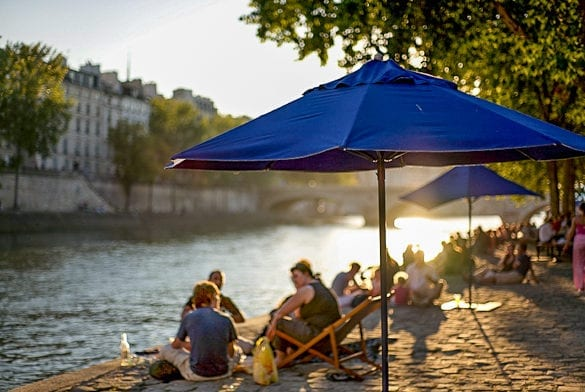 paris in the summer