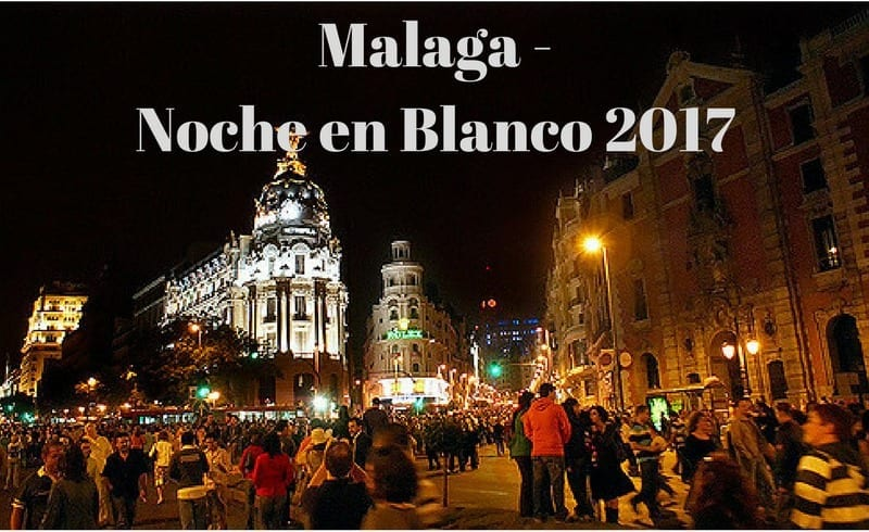 Noche en Blanco – Culture in Málaga